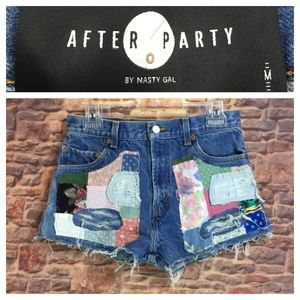 🐞After Party by Nasty Gal Levi's cutoffs size M